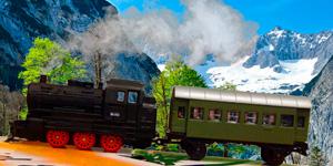 Железная дорога и поезд.  Распаковка игрушек для мальчиков.  Новые видео для детей.